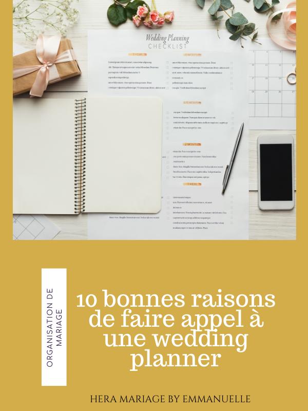 10 bonnes raisons de faire appel à une wedding planner : Article de blog mariage - Hera Mariage Wedding Planner - Auvergne - Puy de Dôme - Clermont-Ferrand - Allier - Haute-Loire - Cantal