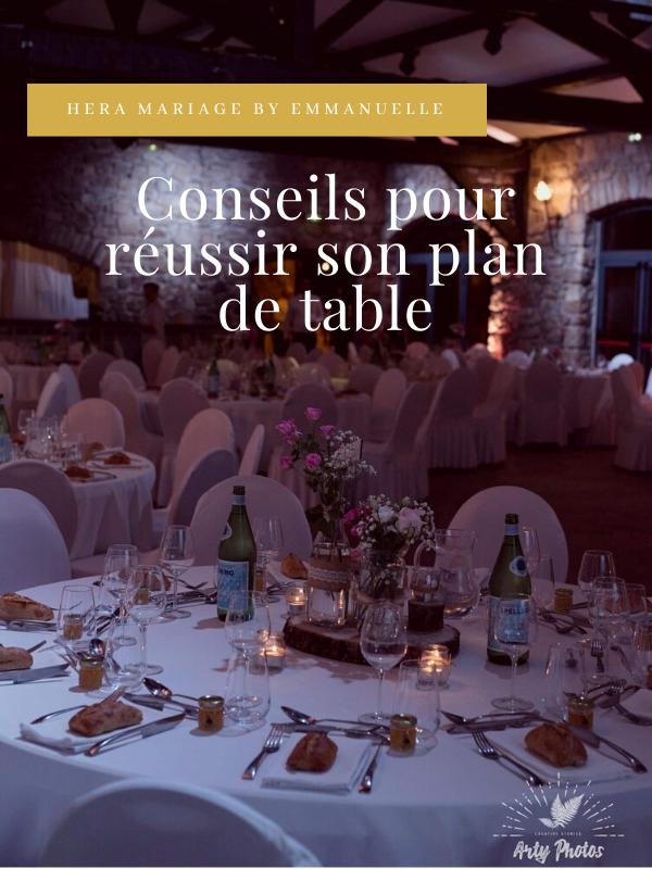 Conseils pour réussir son plan de table : Article de blog mariage - Hera Mariage Wedding Planner - Auvergne - Puy de Dôme - Clermont-Ferrand - Allier - Haute-Loire - Cantal