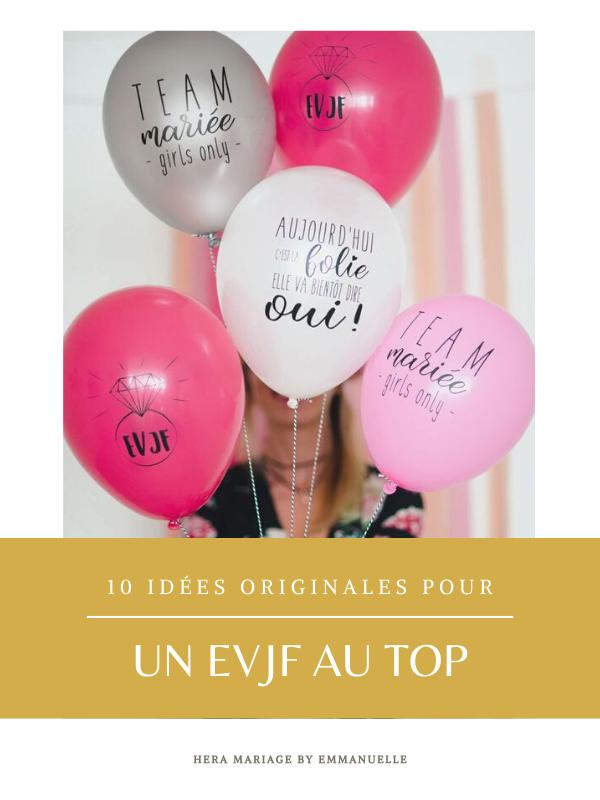 10 idées originales pour un EVJF au top : Article de blog mariage - Hera Mariage Wedding Planner - Auvergne - Puy de Dôme - Clermont-Ferrand - Allier - Haute-Loire - Cantal
