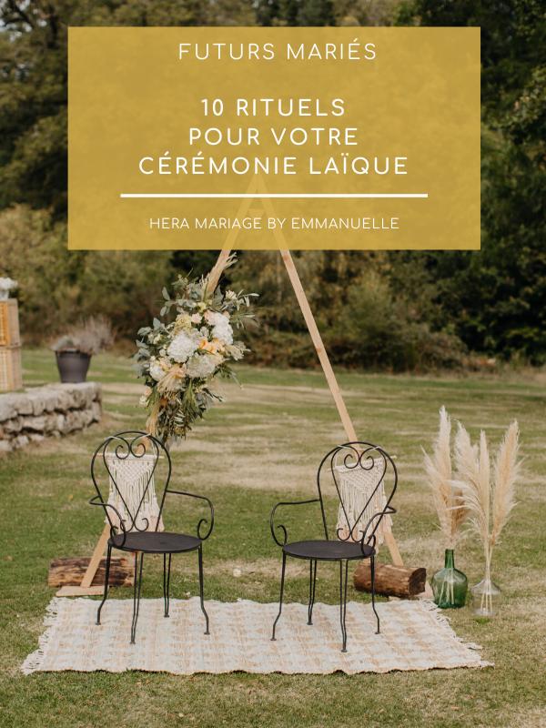 10 rituels pour votre cérémonie laïque : Article de blog mariage - Hera Mariage Wedding Planner - Auvergne - Puy de Dôme - Clermont-Ferrand - Allier - Haute-Loire - Cantal