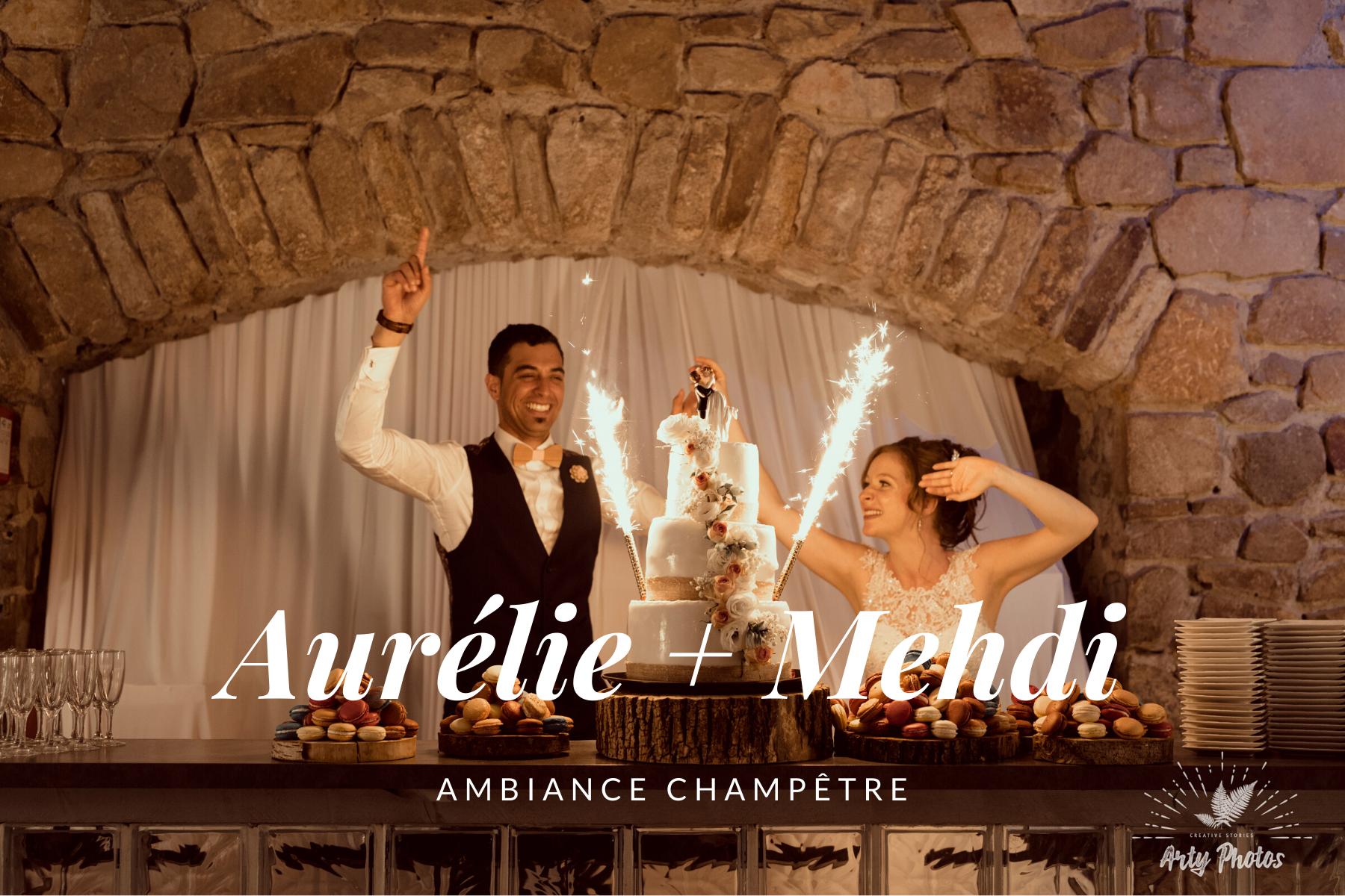 Organisation de mariage champêtre au Domaine de la Tour - Hera Mariage Wedding Planner - Auvergne - Puy de Dôme - Clermont-Ferrand - Allier - Haute-Loire - Cantal