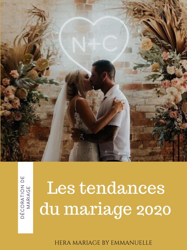 Les tendances du mariage 2020 : Article de blog mariage - Hera Mariage Wedding Planner - Auvergne - Puy de Dôme - Clermont-Ferrand - Allier - Haute-Loire - Cantal