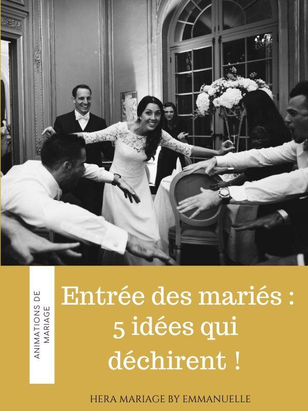 Entrée des mariés, 5 idées qui déchirent : Article de blog mariage - Hera Mariage Wedding Planner - Auvergne - Puy de Dôme - Clermont-Ferrand - Allier - Haute-Loire - Cantal