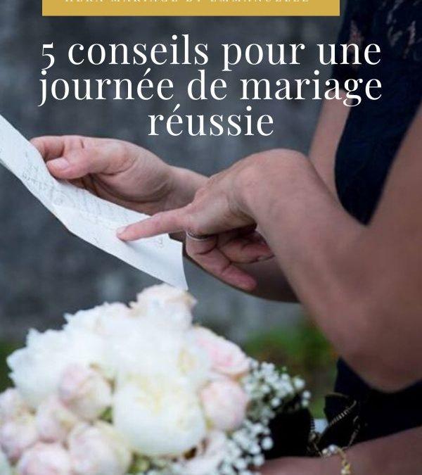 5 conseils pour un mariage réussi